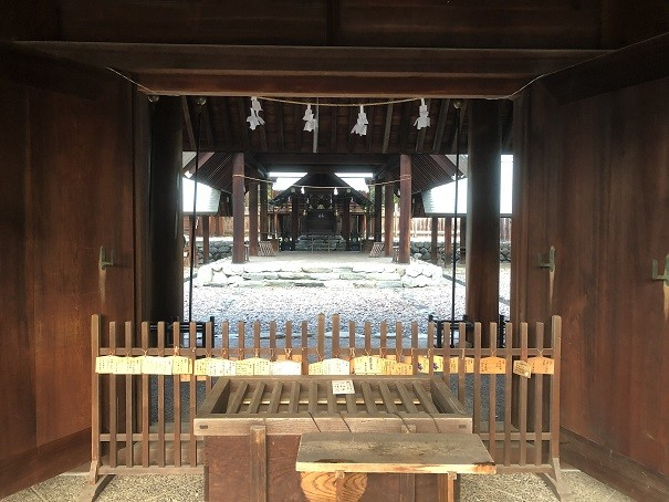 東雲神社 本殿
