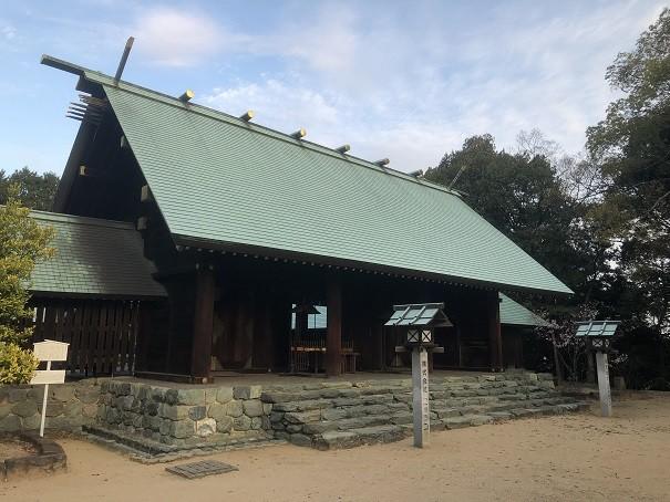 東雲神社 社殿