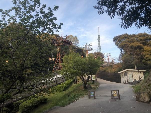 東雲神社 松山城ロープウェイ