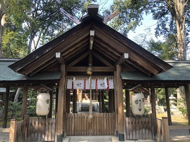 木嶋坐天照御魂神社 社殿