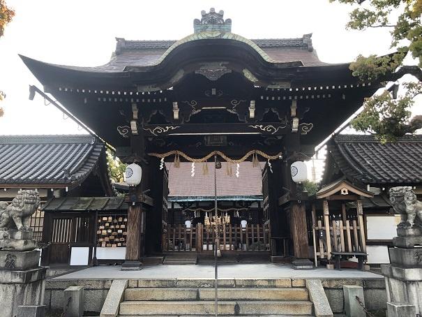 清和源氏の始祖『源経基』を祀る六孫王神社の歴史 拝殿