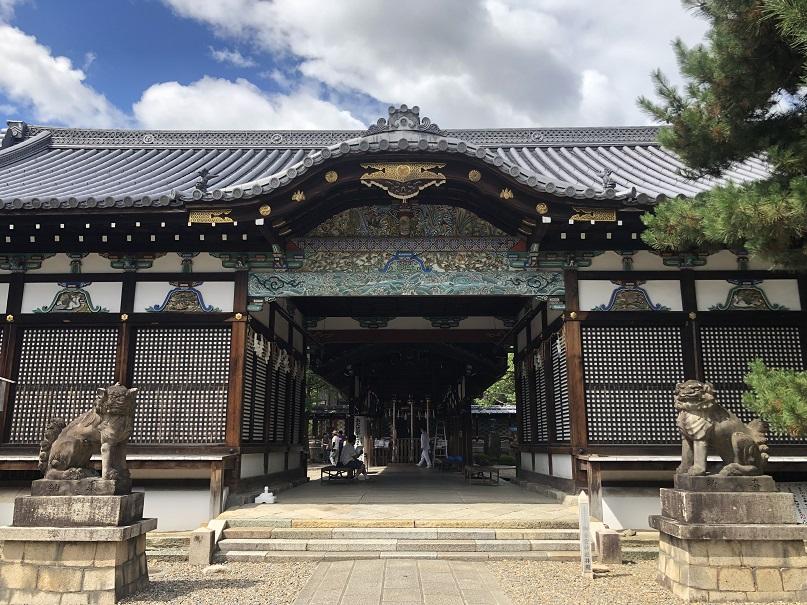 御香宮神社 割拝殿