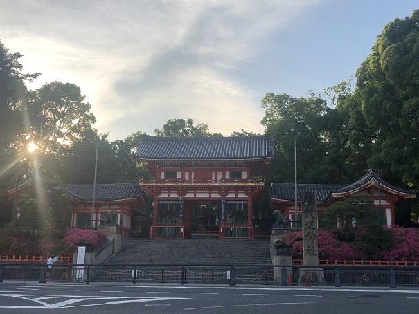 全国の祇園社・素戔嗚尊を祀る神社の総本社 八坂神社
