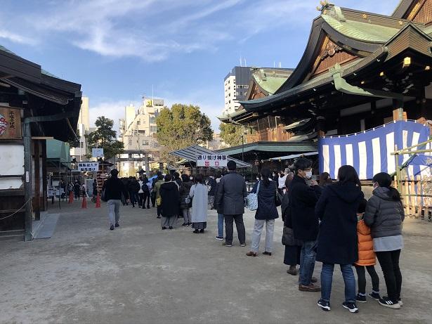 大阪天満宮通り抜け神事の参拝方法