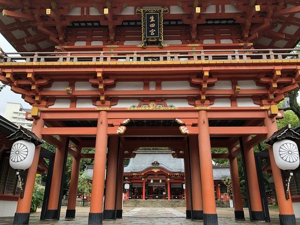 生田神社 楼門