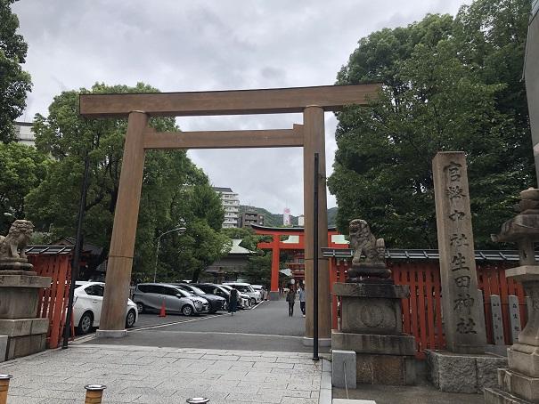 神占いからご神託を受け創建した「生田神社」の歴史