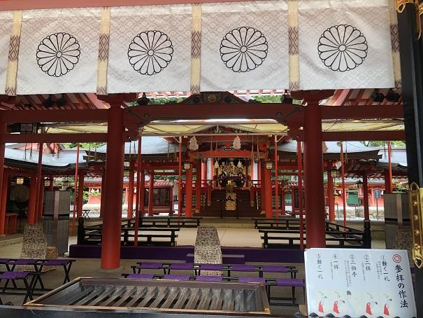 生田神社 社殿