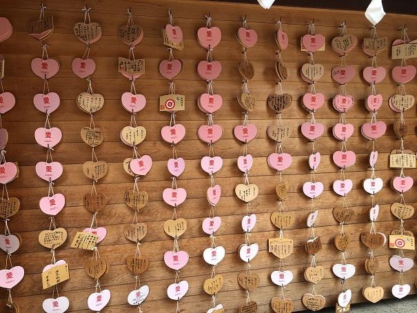 生田神社 フォトジェニックな絵馬掛け所