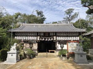 羽束師坐神社