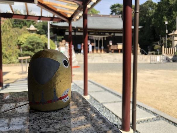 弓弦羽神社の人気キャラ「ゆづ丸」が神様に願いを届けてくれる!
