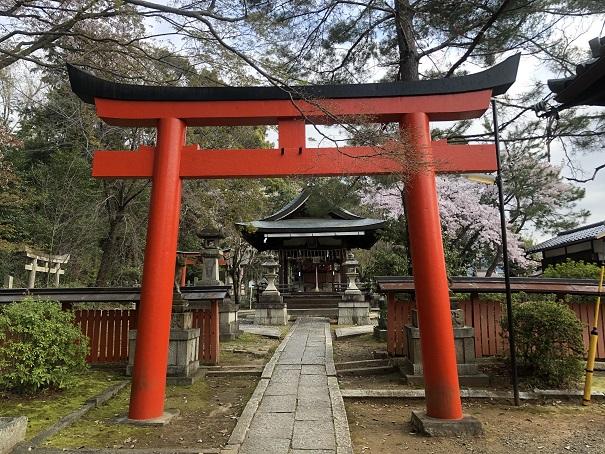 竹中稲荷社(末社)