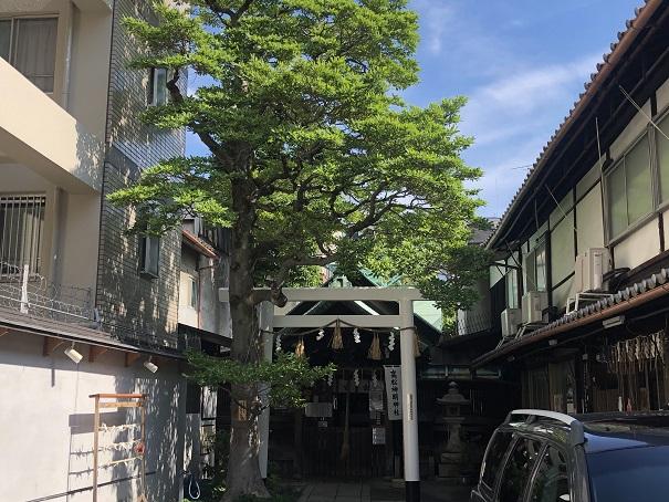 高松神明神社のアクセス