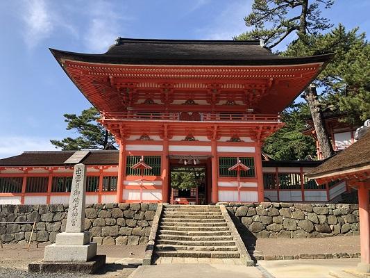 日御碕神社(ひのみさきじんじゃ)楼門