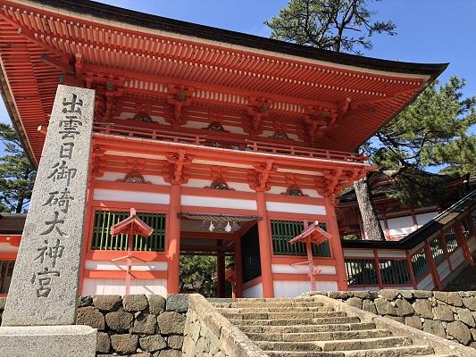日本の夜を守る日御碕神社の歴史 楼門