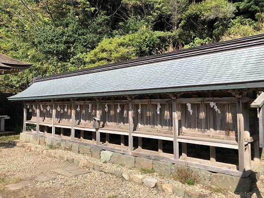 日御碕神社 十九社(末社)