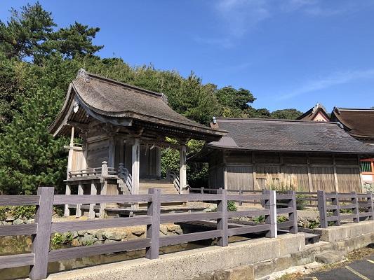 日御碕神社 宗像神社(摂社)
