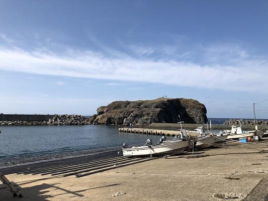 日御碕神社 無人島の経島にある神域の下之宮