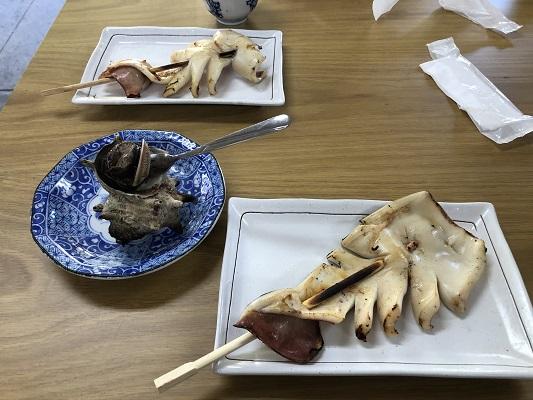 日御碕神社 お食事処で少し休憩
