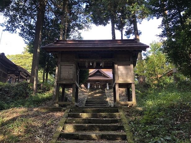 朝山神社という社名になった由来