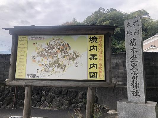 葛木坐火雷神社のアクセス