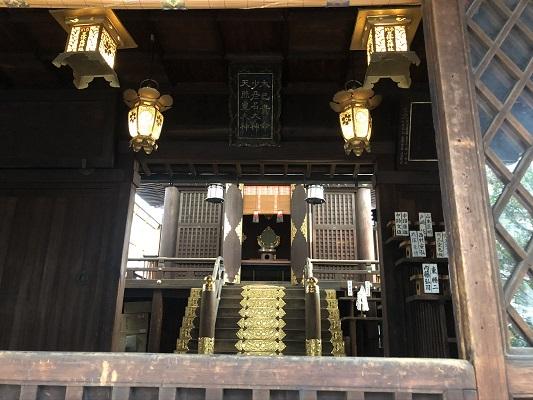 五條天神宮 社殿