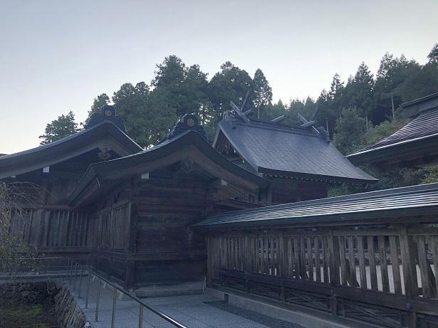 熊野大社(くまのたいしゃ)出雲国一之宮 本殿
