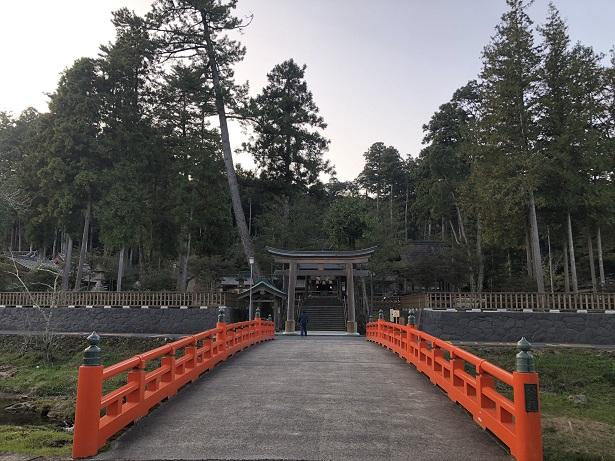 熊野大社(くまのたいしゃ)出雲国一之宮 太鼓橋