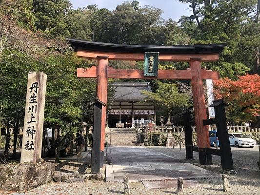 丹生川上神社中社 鳥居