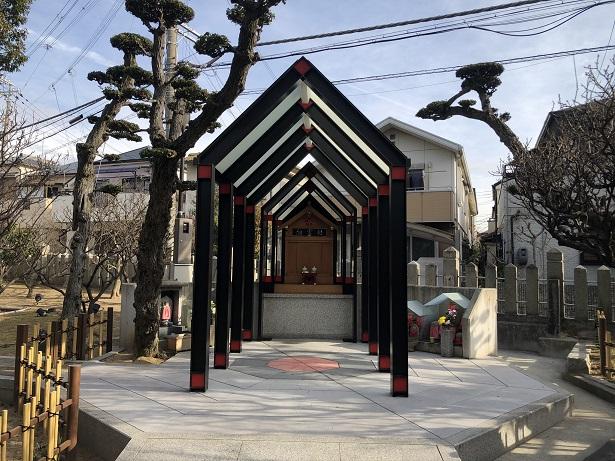 綱敷天満宮の境内社(摂社・末社)