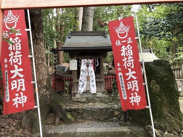 岩屋神社の境内社(摂社・末社)稲荷宮