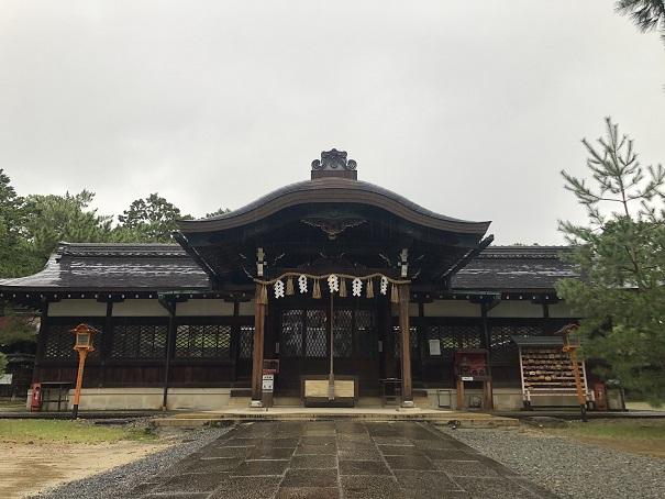 十一柱をお祀りする社殿新日吉神宮