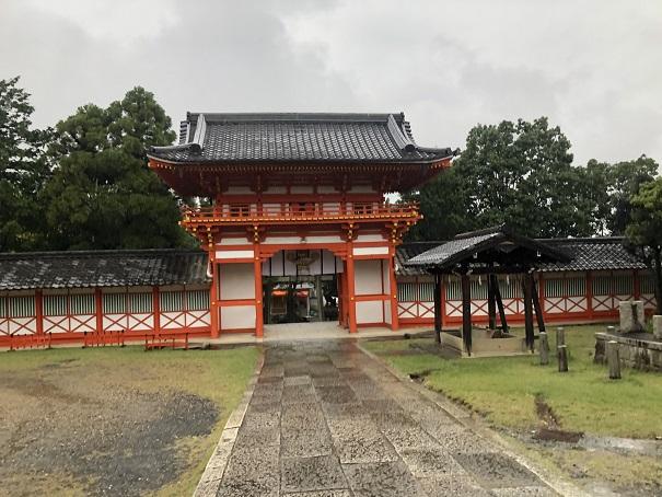 新日吉神宮楼門