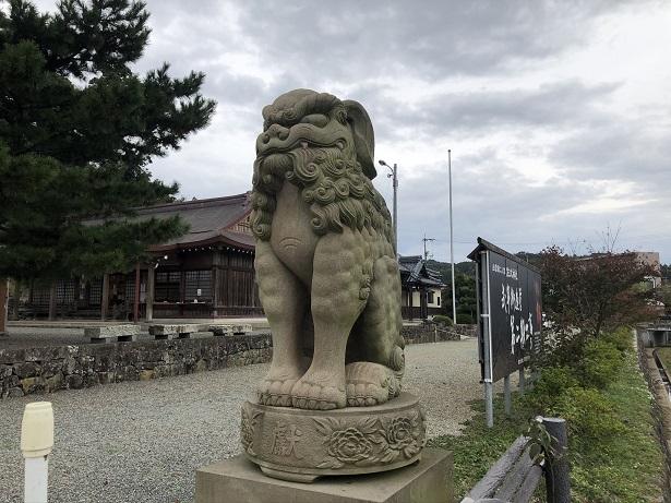 佐太神社狛犬