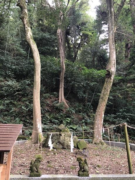 パワースポットの母儀人基社(はぎのひともとしゃ)佐太神社