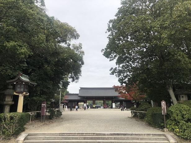 橿原神宮日本はじまりの地のスケール感